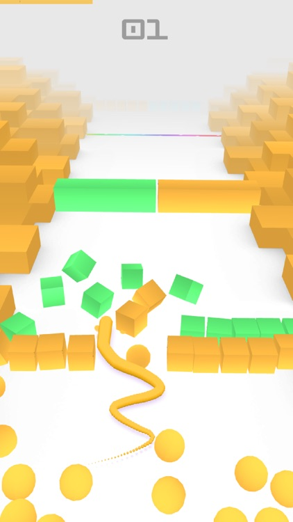 Color Snake 3D. screenshot-0