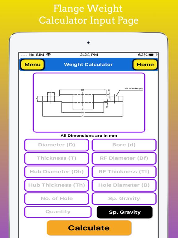 Fabrication Weight Calculator screenshot 15