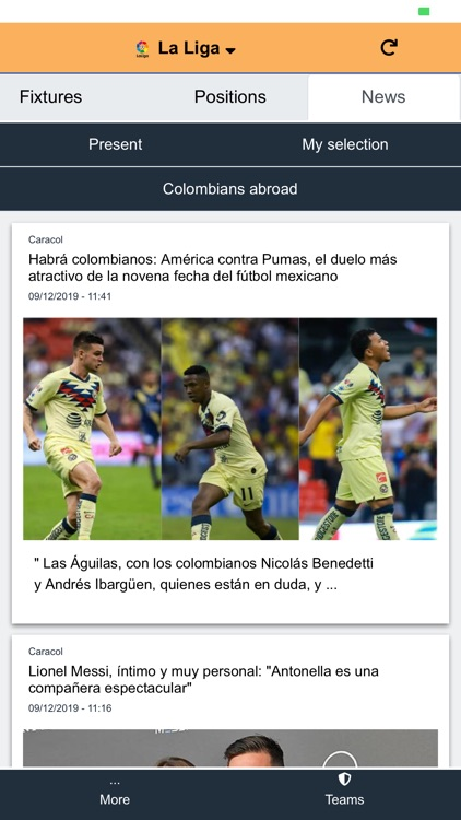 FullScore - Football and News screenshot-3