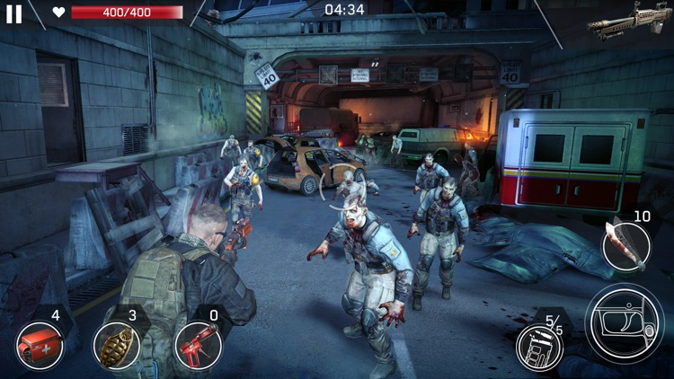 Left to Survive: Zombies Games screenshot-6