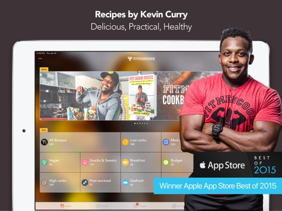 Fit Men Cook - Healthy Recipes Screenshots