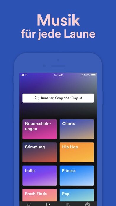 Screenshot for Spotify – Musik und Podcasts in Germany App Store