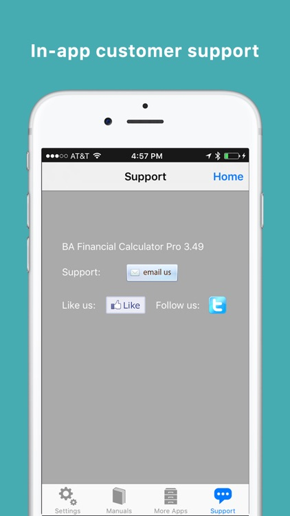 BA Financial Calculator Pro screenshot-4