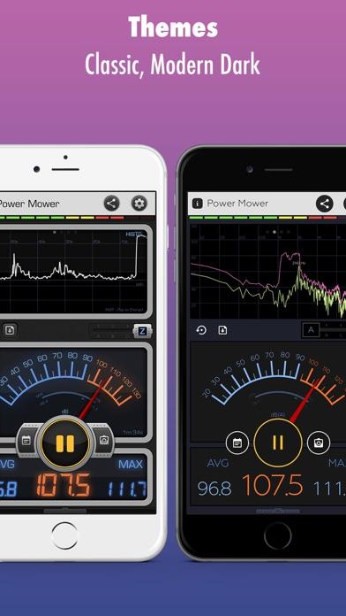 Screenshot for Decibel X PRO: dBA Noise Meter in Denmark App Store