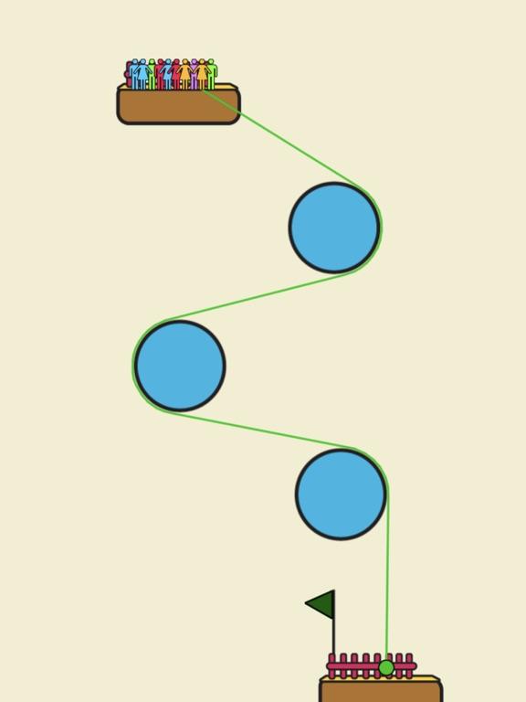 Rope Rescue! - Unique Puzzle screenshot 5