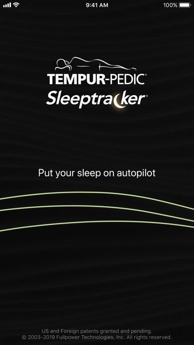 Tempur-Pedic® Sleeptracker® screenshot 1