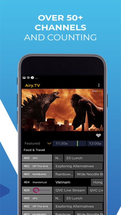 Airy TV & Live Movie Streaming screenshot-1
