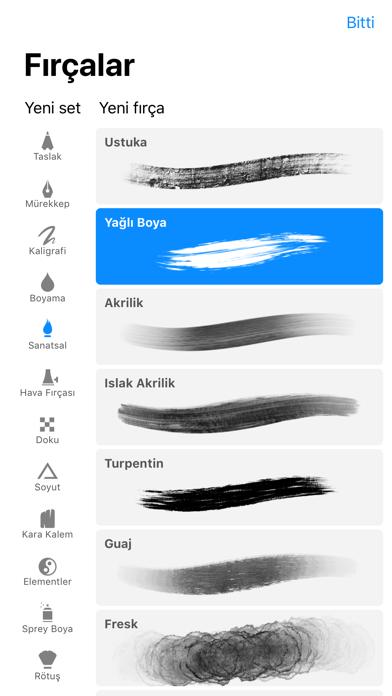 Screenshot for Procreate Pocket in Turkey App Store