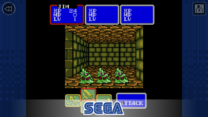 Screenshot from Shining Force Classics