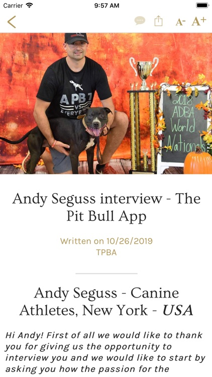 The Pit Bull App
