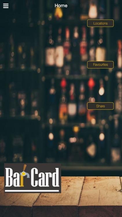 Bar-Card