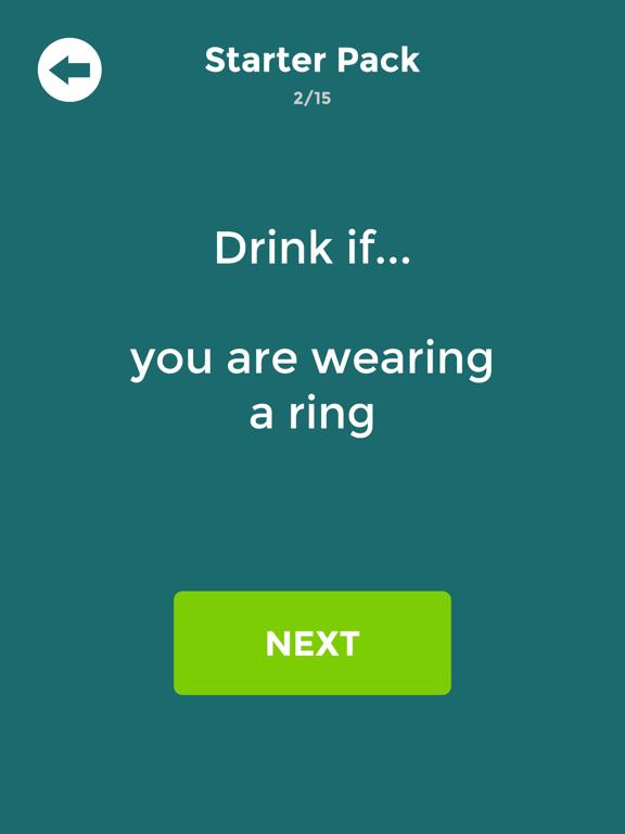 Drink If: Buzzed Drinking Game screenshot 5