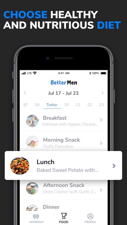 BetterMen: Fitness Planner screenshot-4