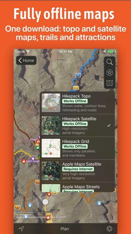 Hikepack: Clever Hiking Maps screenshot-4