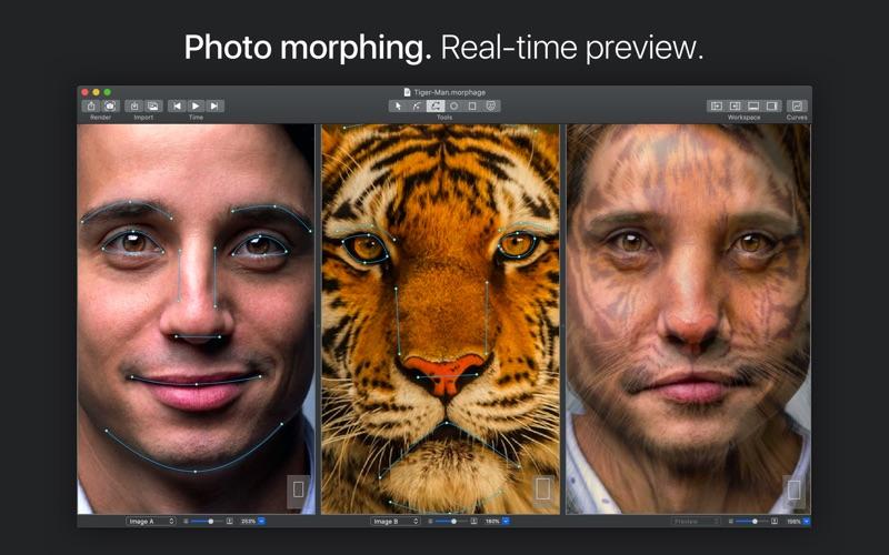 Morph Age › Photo Morphing Screenshots
