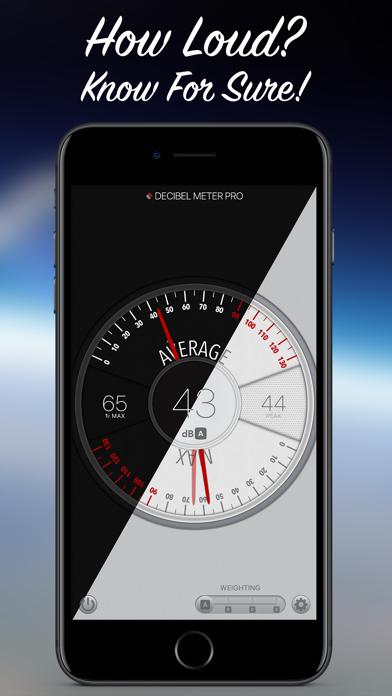 Screenshot for Decibel Meter Pro in Denmark App Store