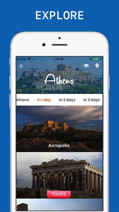 Athens Travel Guide screenshot three