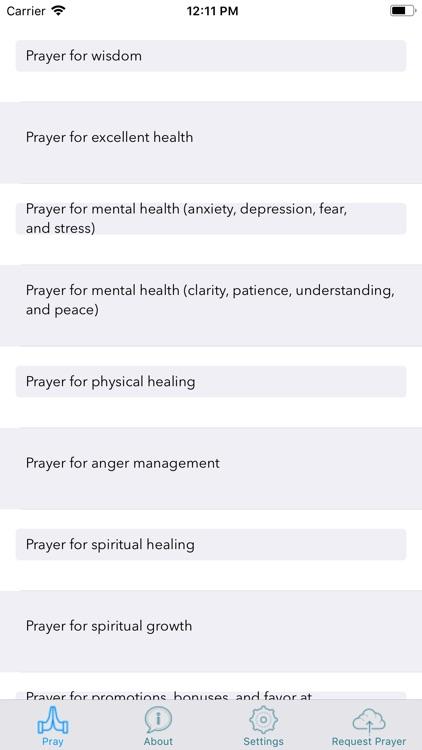 Jesus Daily Prayer App