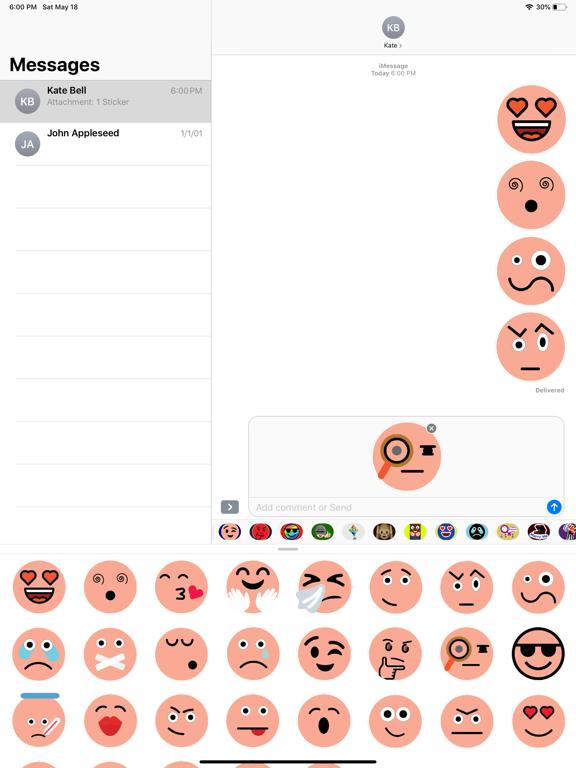 Skin Emoji Stickers screenshot 6