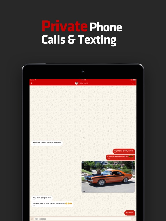 Hushed Private - Phone Number for Texting Calling screenshot