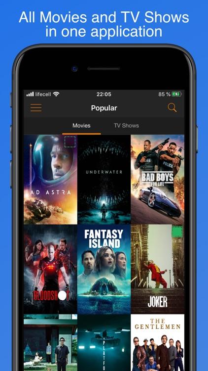 My Movies & TV Shows Watchlist screenshot-0