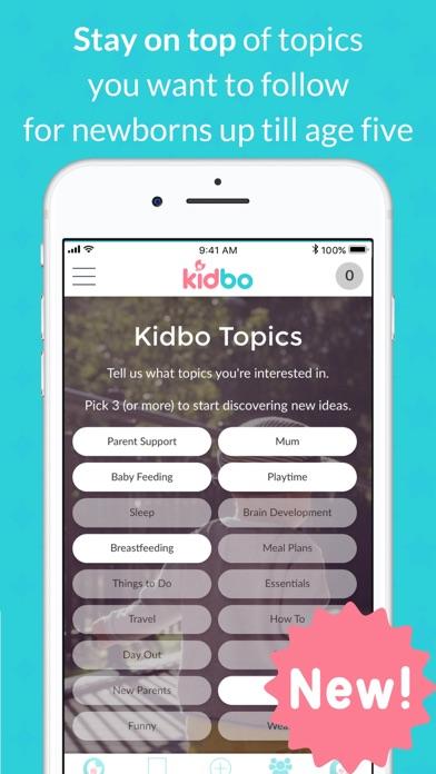 Kidbo - The Art of Parenting screenshot four