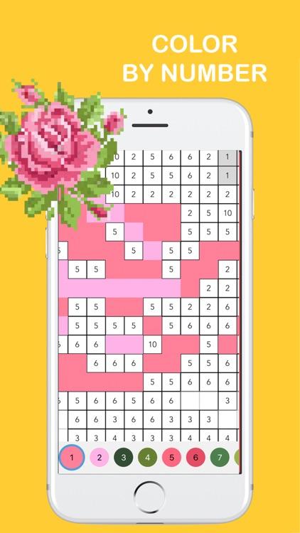 Pixel Color: Coloring Art Book screenshot-0
