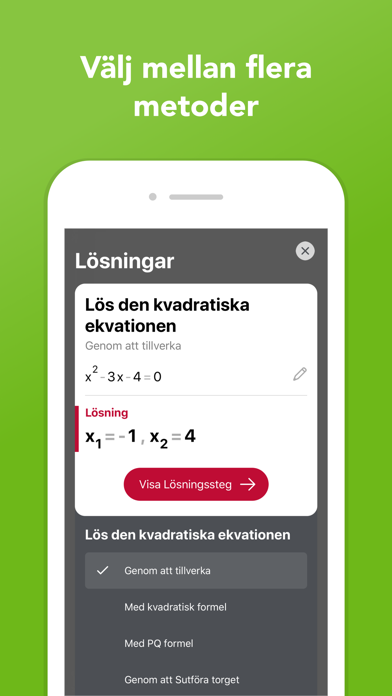 Screenshot for Photomath in Sweden App Store