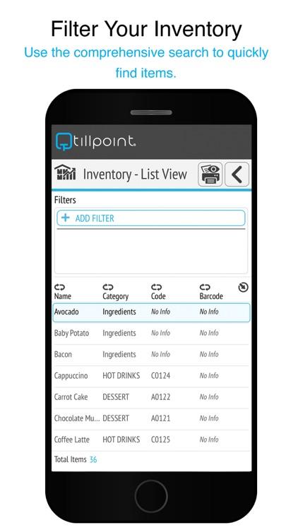 Tillpoint Point of Sale (POS) screenshot-3