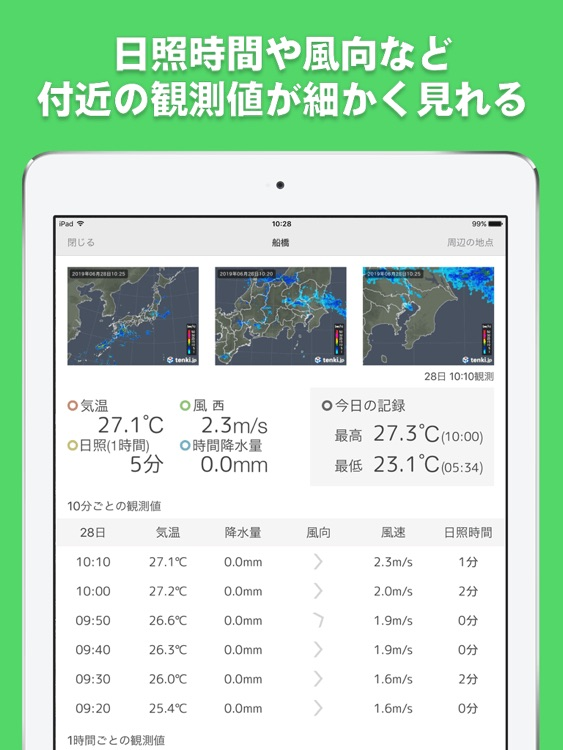 tenki.jp for iPad screenshot-3
