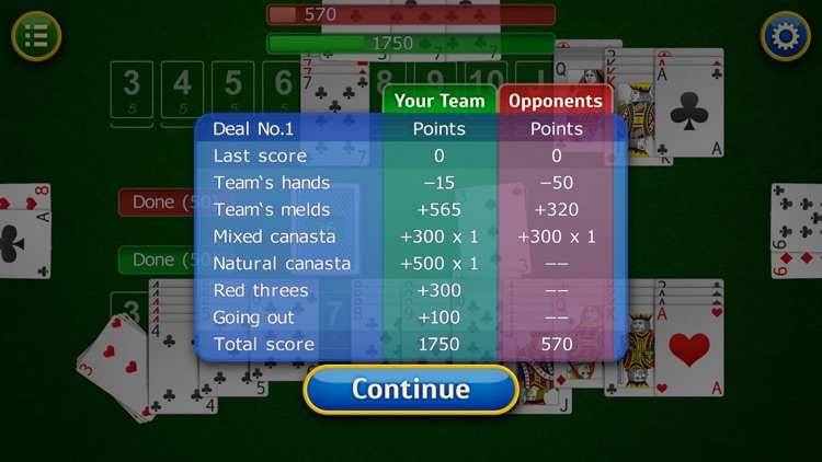 Canasta. screenshot-1