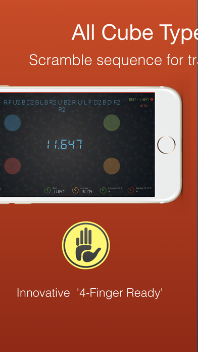 Cutimer Pro: Magic Cube Timer screenshot 3