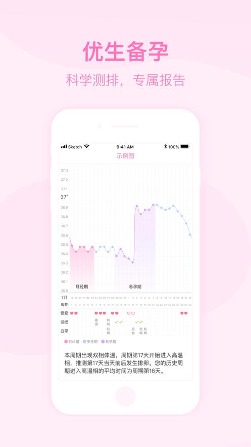 美柚月经期助手(专业版) App 截图
