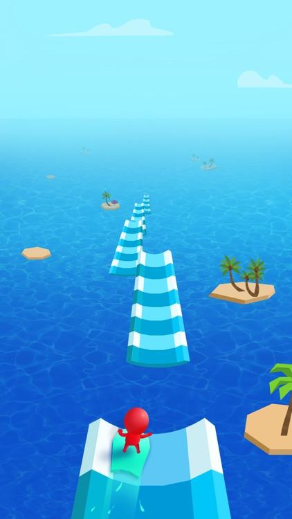 Water Race 3D: Aqua Music Game screenshot-3