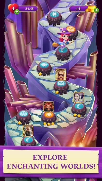 Bubble Witch 3 Saga screenshot-3