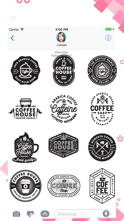 Black Vibes Stickers Pack