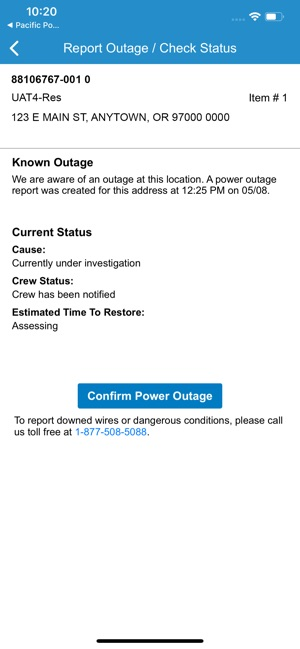 Report Power Outage In My Area — PSE USA