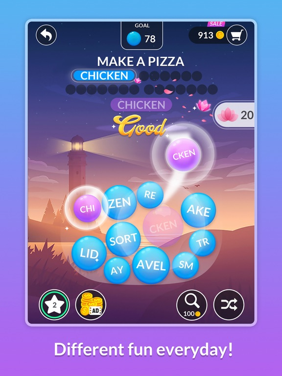 Word Serenity: Relaxing Games screenshot 11
