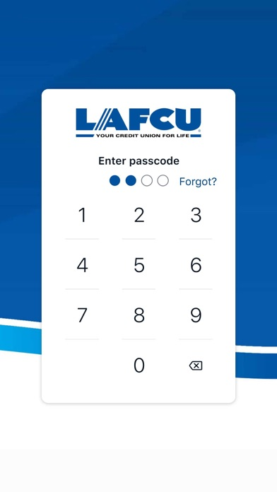 Screen Shot LAFCU Mobile 0