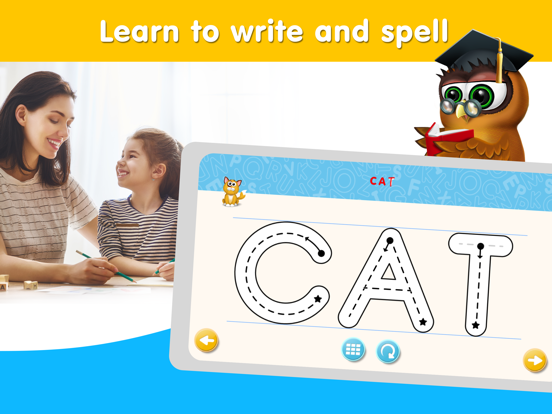 Preschool & Kindergarten Early Learning Games: math, reading, educational puzzles and free children