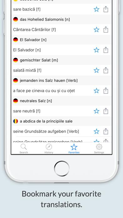 German Romanian Dictionary + screenshot 3