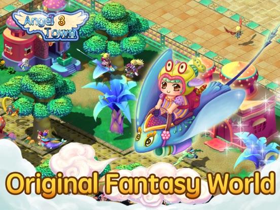 Angel Town 3- new idle game Screenshots