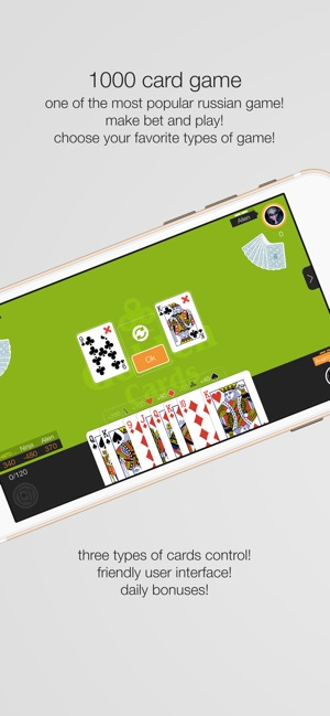 Card game 1000 online offline on the App Store