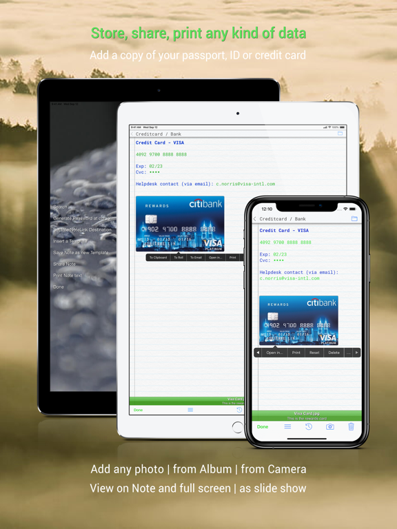 The Vault - Secure Document and Data Storage & Password Safe screenshot