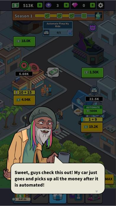 Idle Weed Empire! screenshot 2