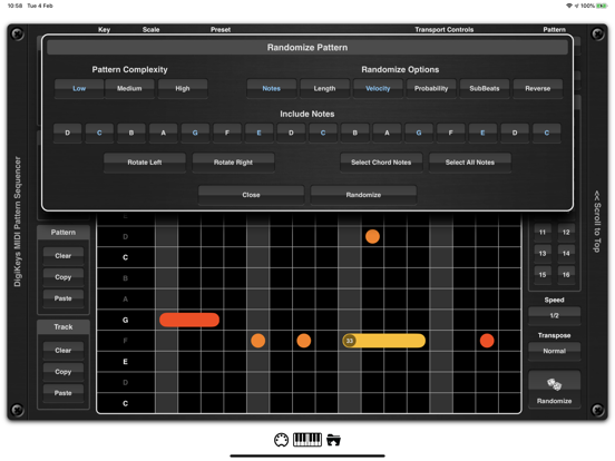 DigiKeys AUv3 Sequencer Plugin screenshot 10
