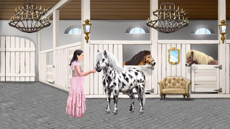 Pony und Reiter Anziehspass screenshot-5