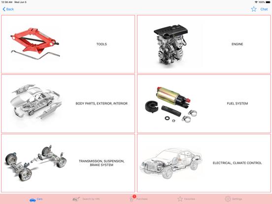 screenshot #3 for fan club car t0y0ta parts chat