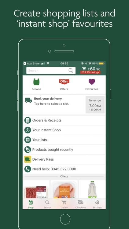 Morrisons Groceries screenshot-4