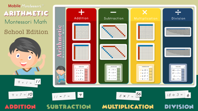 Montessori Math - Arithmetic screenshot 1